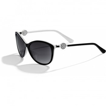 Ferrara Black/White Sunglasses