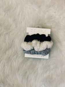 Z Supply 3pk Scrunchies