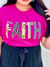 Load image into Gallery viewer, Faith Applique Tee