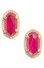 Load image into Gallery viewer, Emery Gold Stud Earring-Azalea Illusion