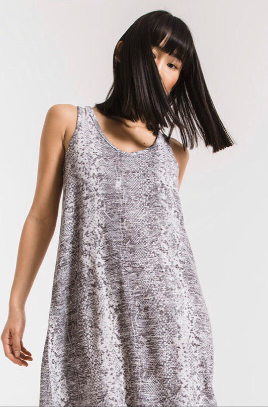 Snakeskin Breezy Dress