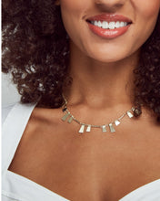 Load image into Gallery viewer, Lynne Gold Choker Necklace