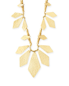 Keaton Gold Statement Necklace