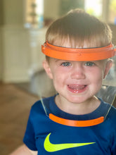 Load image into Gallery viewer, Kid's Small Face Shield (recommended ages 8-12)