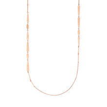 Load image into Gallery viewer, Averil Rose Gold Long Necklace