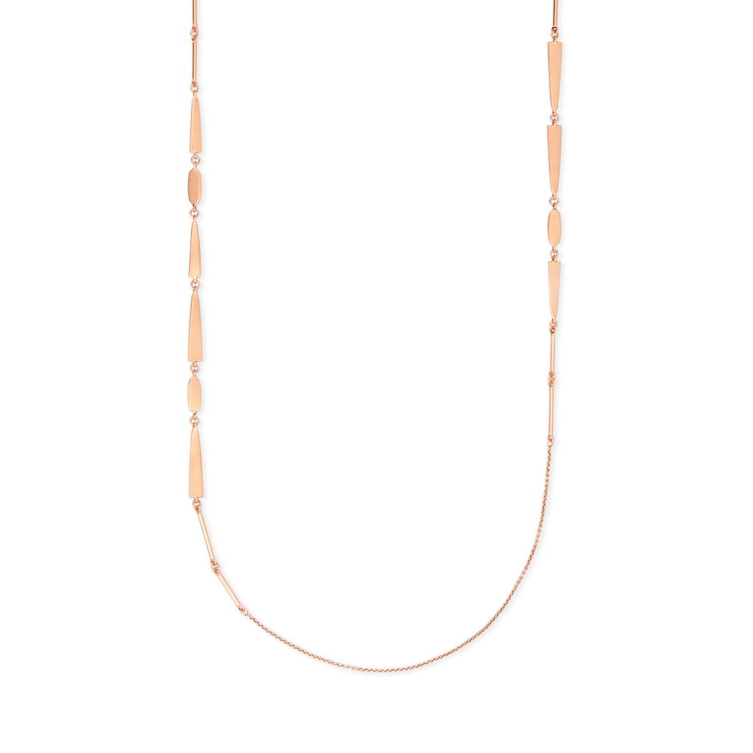 Averil Rose Gold Long Necklace
