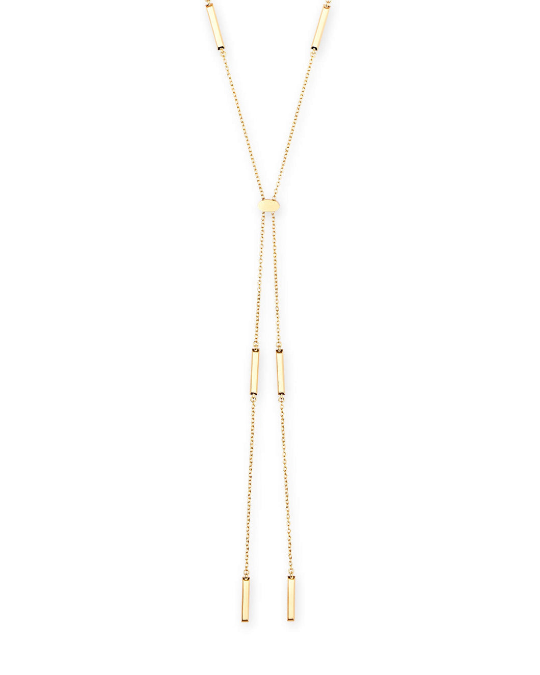 Josephine Rose Gold Y Necklace