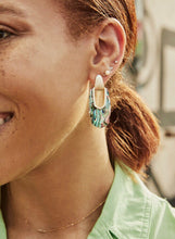 Load image into Gallery viewer, Kailyn Gold Earrings-Abalone