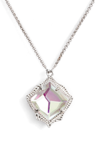 Load image into Gallery viewer, Kacey Pendant Necklace- Dichroic Glass