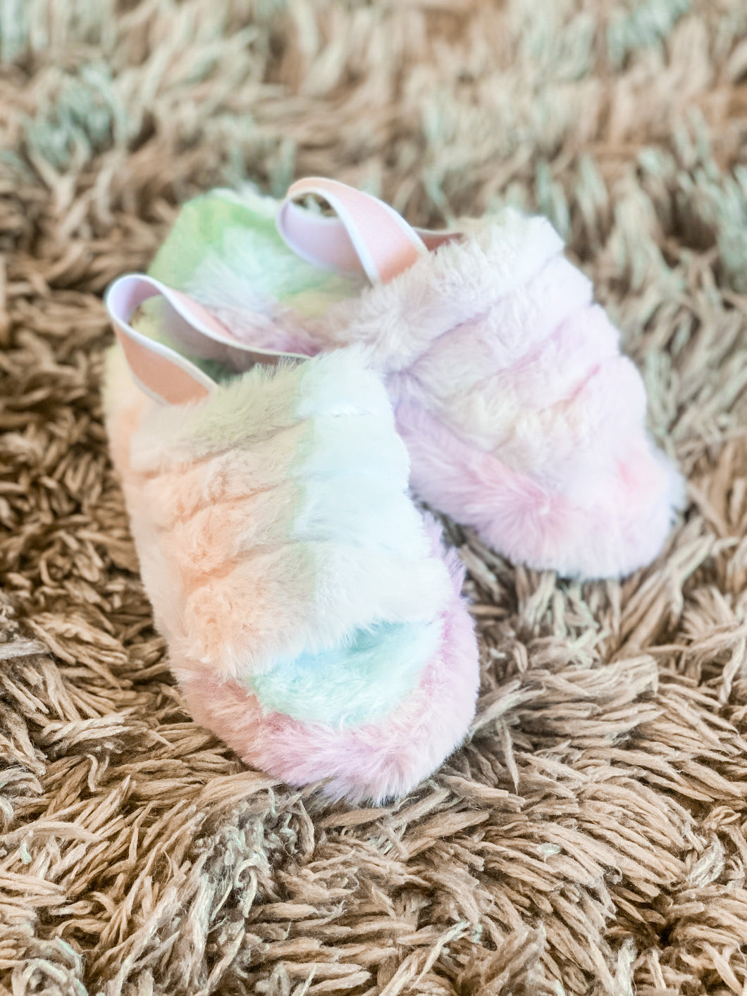 Kids Tie Dye House Shoe