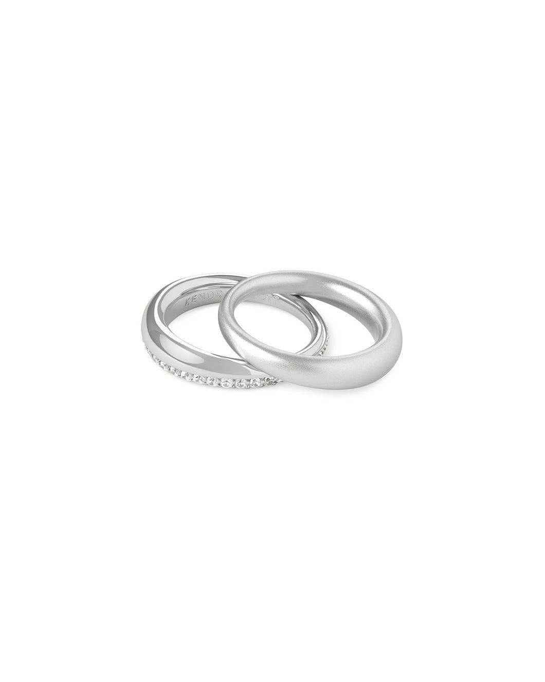 Colette Silver Ring Set of 2