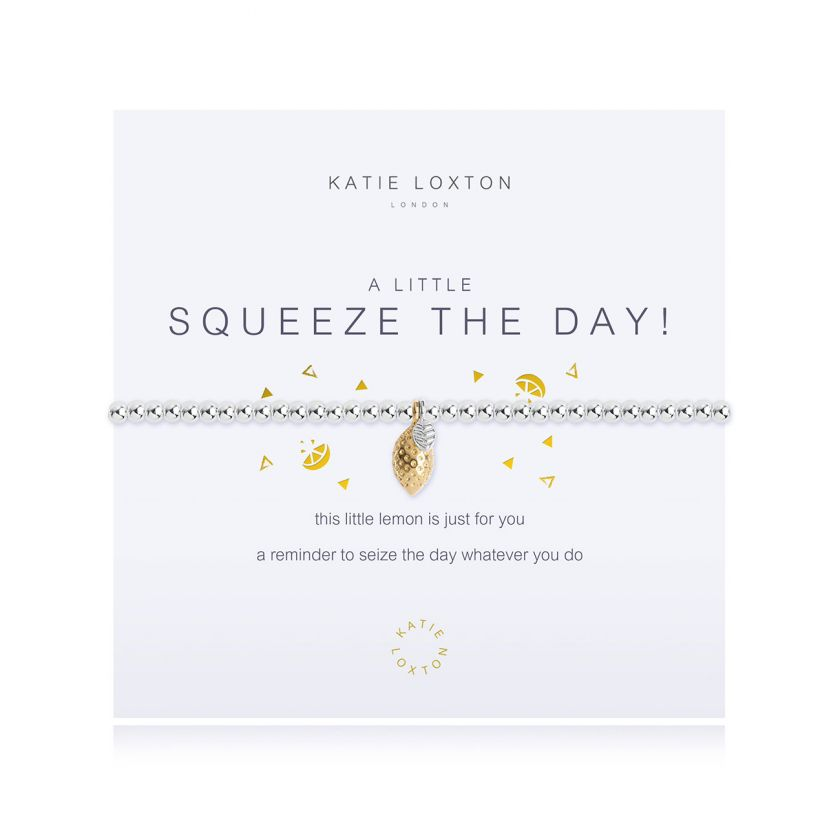 a little Squeeze The Day Bracelet