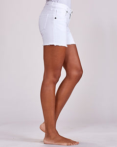 Optic White Gidget Shorts