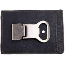 Load image into Gallery viewer, Money Clip Wallet & Beverage Opener