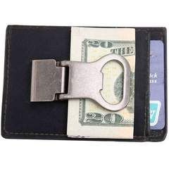 Money Clip Wallet & Beverage Opener