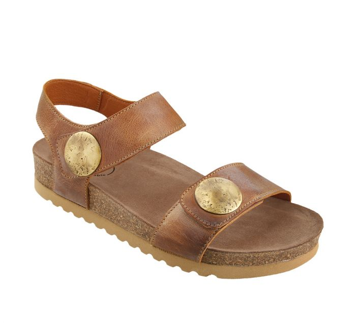 Taos Luckie Camel Sandals