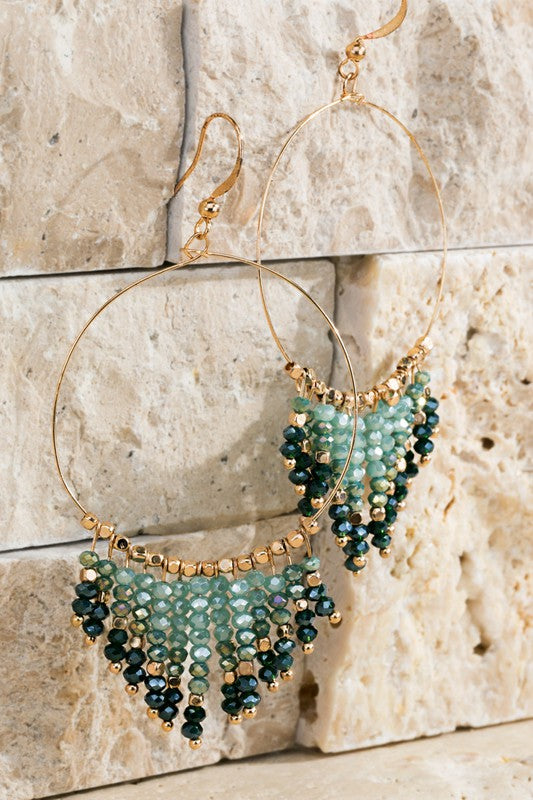 Chandelier Tassel Earrings