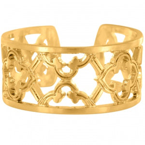 Christo Toledo Gold Narrow Ring