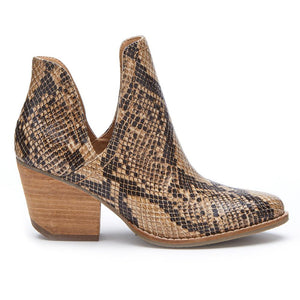 Trader Brown Snake Bootie