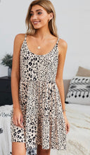 Load image into Gallery viewer, Apricot Leopard Dress