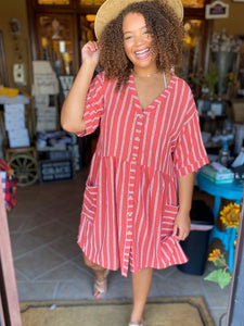 Spice Relaxed Fit Dress