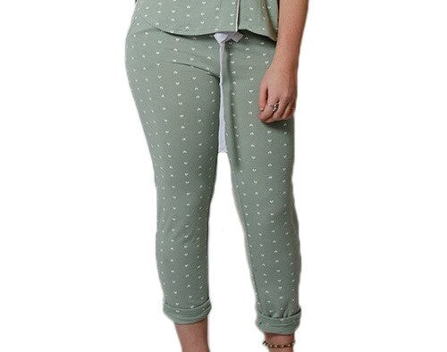 Grey/Mist Heart Lounge Pants