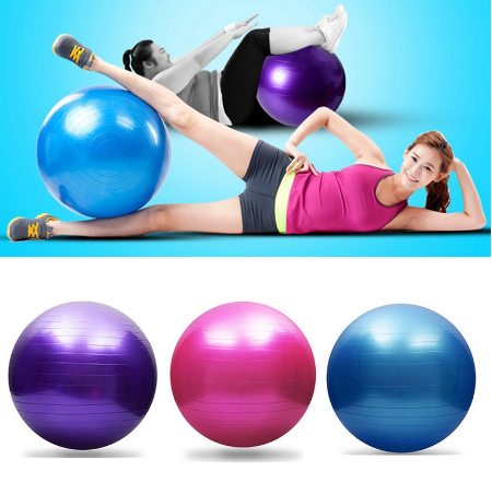Yoga Balls Balance Exercise and Massage  with Pump 25cm