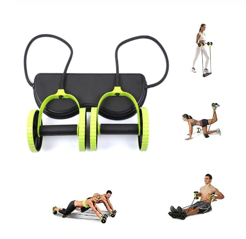 Roller Stretch Elastic Abdominal Resistance