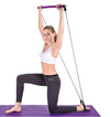 Resistance Bands for Pilates Exercise Bar Body Abdominal