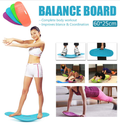 ABS Twisting Fitness Balance Board Workout Yoga