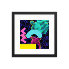 Load image into Gallery viewer, Hermes Wins Gold 1 (with Frame)-Framed Print-Popquiz Gods