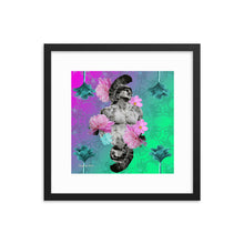 Load image into Gallery viewer, Perseverance 1 (with frame)-Framed Print-Popquiz Gods