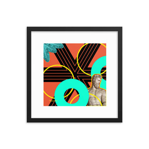 Atlas is Everywhere-Framed Print-Popquiz Gods