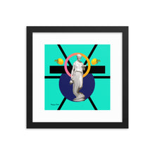 Load image into Gallery viewer, Hestia Makes Lemonade (with Frame)-Framed Print-Popquiz Gods