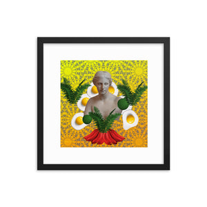 Venus in the Kitchen 1 (with frame)-Framed Print-Popquiz Gods