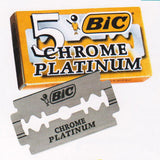 BIC Chrome Platinum Double Edge Razorblade