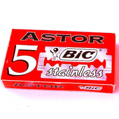 BIC Astor Stainless double edge blades liorfe