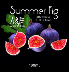 Ariana & Evans Summer Fig Aftershave Splash & Skin Food
