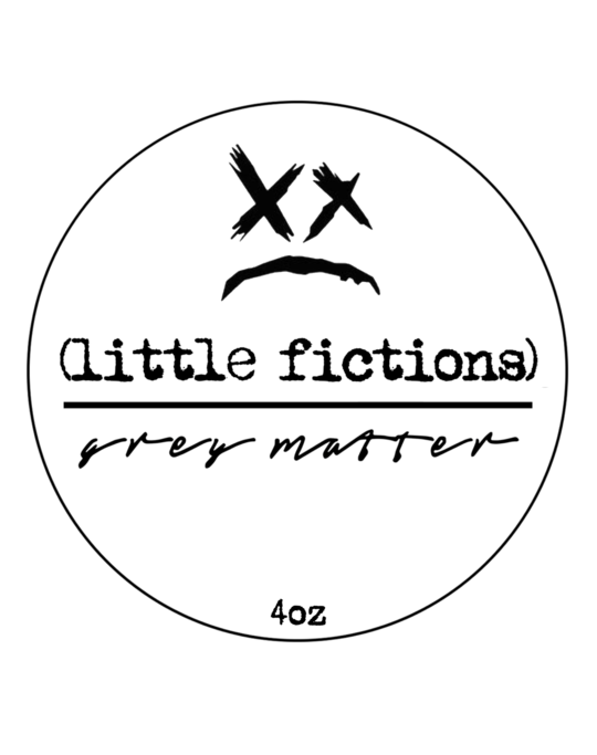 (little fictions) Shave Soap - Collaboration with Grey Matter Parfums  ARIANA & EVANS GOAT'S MILK AND LANOLIN SHAVING SOAP