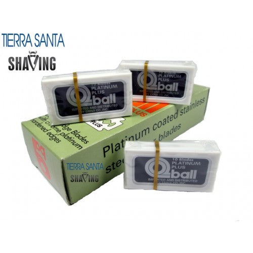 Q-Ball - Israeli Personna Blades - Chrome Platinum Double Edge Blades For Safety Razor