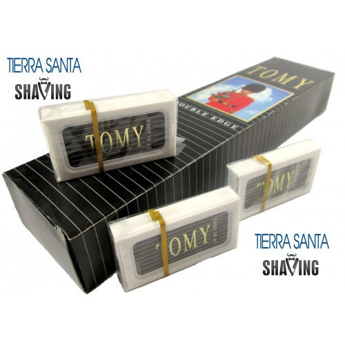 Tomy Israeli Personna Blades - Platinum Double Edge Blades For Safety Shaving Razor