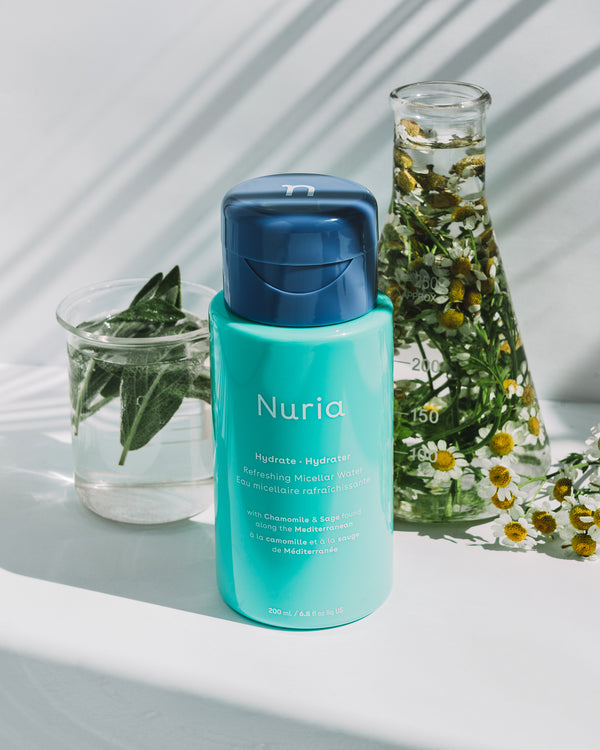 Nuria blends the most effective and proven, natural ingredients with modern science to create clean, effective skincare that keeps skin looking healthy and glowing.