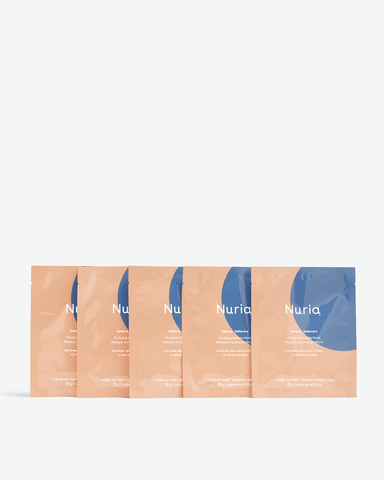 Defend Purifying Bubble Sheet Mask Set