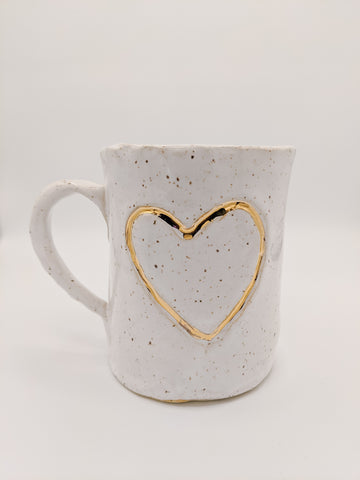Heart - Valentine's Day Special Mug - White