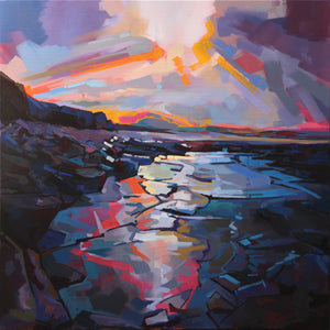 Recent Works - Contemporary art from Ireland. Paintings & prints by Irish seascape & landscape artist Kevin Lowery.