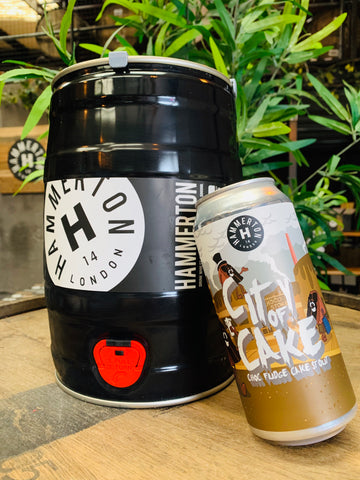 CITY OF CAKE Choc Fudge Cake Stout - Mini Keg (5 Litre)