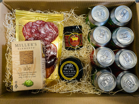 Hammerton Beer, Meat & Cheese Box (Medium)