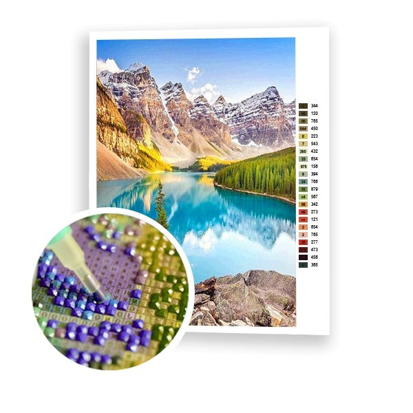 Banff National Park - Art of Diamond Painting