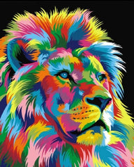 Colorful Lion King