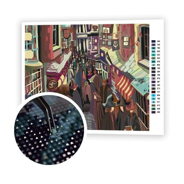 Diagon Alley - Art of Diamond Painting